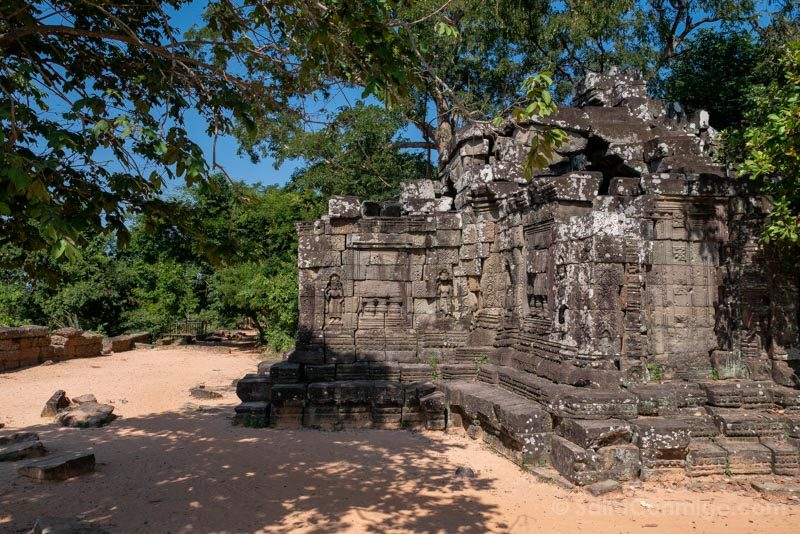 Que Ver en Angkor Thom Camino Ronda Prasat Chrung