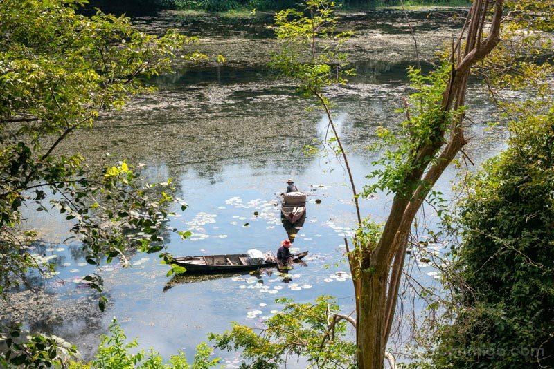 Que Ver en Angkor Thom Foso Pescadores
