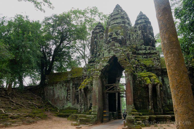 Que Ver en Angkor Thom Puerta Norte