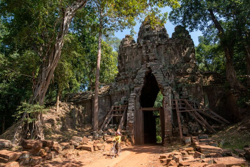 Que Ver en Angkor ThomPuerta Oeste