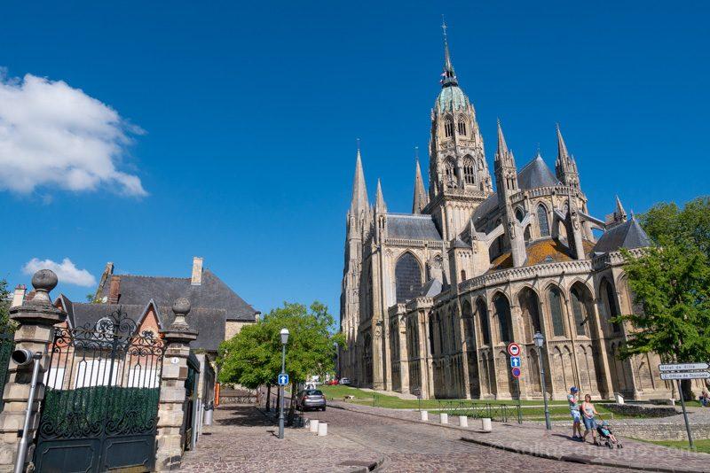 Que Ver en Bayeux Catedral Notre Dame