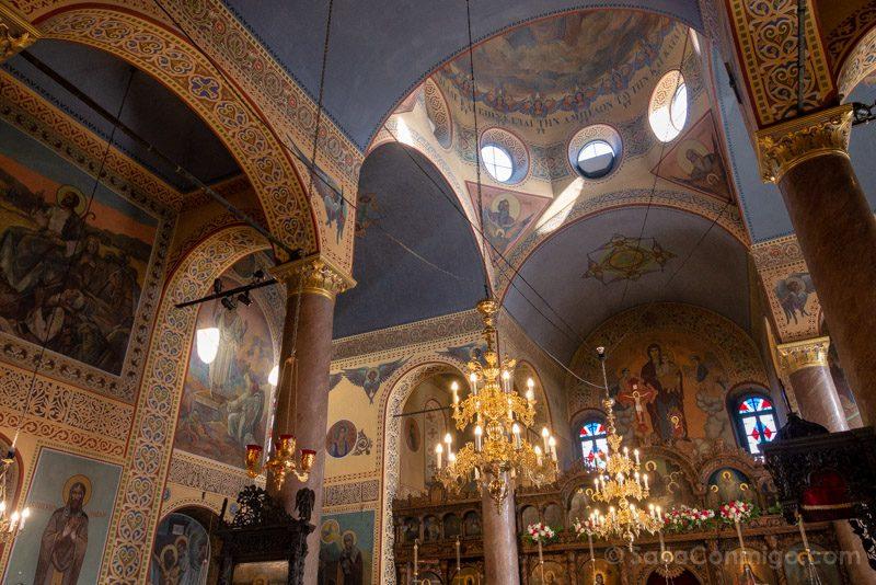Que Ver en Varna Bulgaria Iglesia San Nicolas Interior