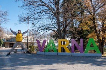 Que Ver en Varna Bulgaria Parque Litoral Salto