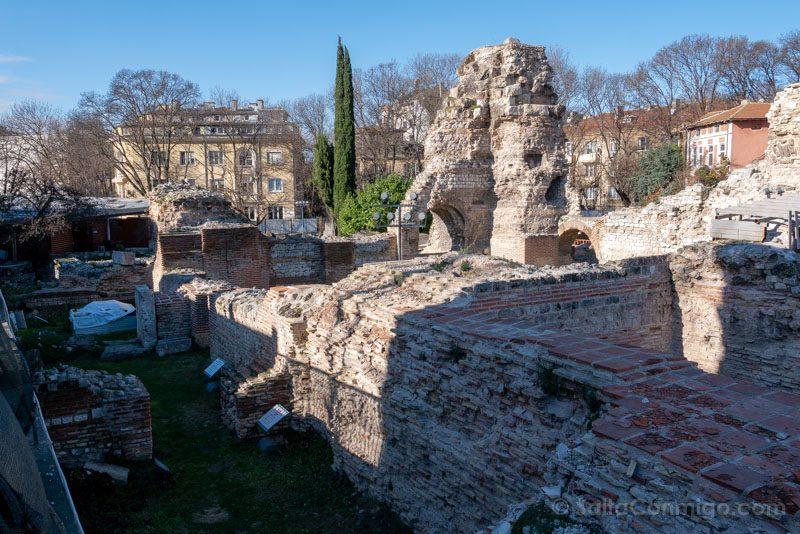 Que Ver en Varna Bulgaria Termas Romanas