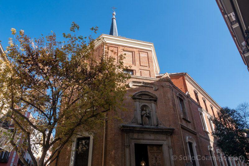 San Antonio Alemanes Madrid Fachada