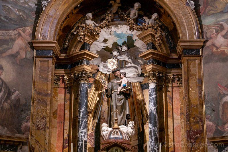 San Antonio Alemanes Madrid Retablo