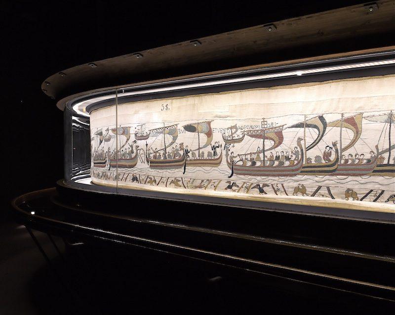 Tapisserie de Bayeux 11e siecle Bayeux Museum