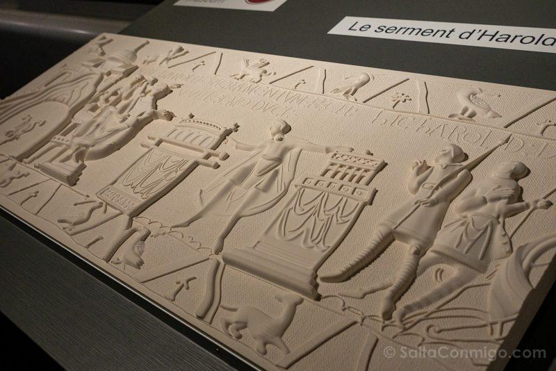 Tapiz de Bayeux Centro Guillermo Conquistador Ciegos