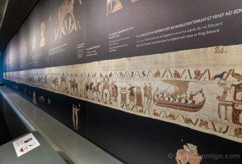 Tapiz de Bayeux Centro Guillermo Conquistador Reproduccion