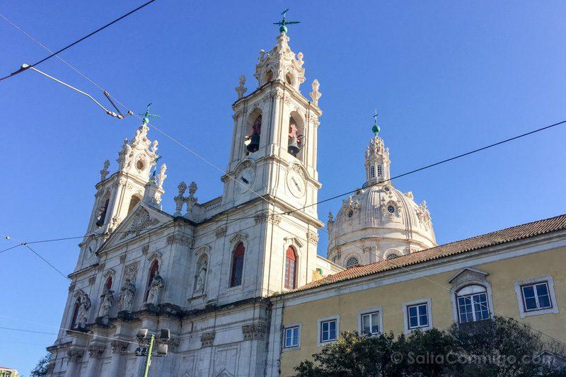 Tranvia 28 Lisboa Basilica Estrela