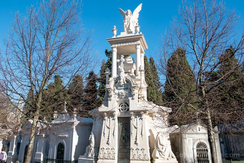 Tranvia 28 Lisboa Cementerio Prazeres Tumba