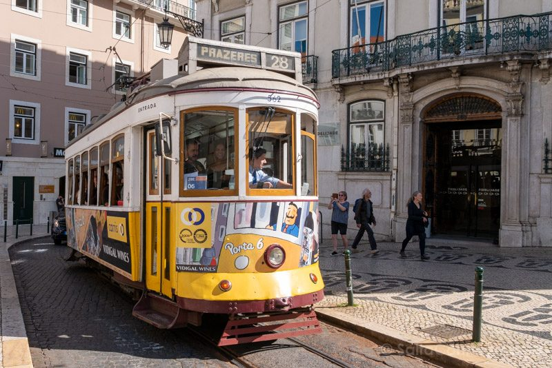 Tranvia 28 Lisboa Exterior