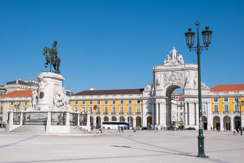 Tranvia 28 Lisboa Praca Comercio