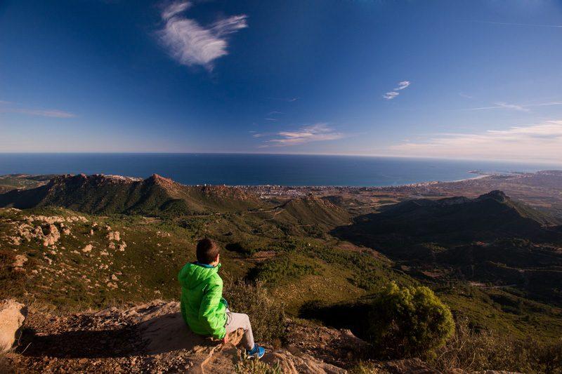 Turismo Activo en Castellon Desert Palmes Mirador Bartolo