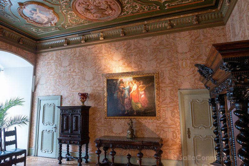 Castillo Ksiaz Interior Salon Italiano