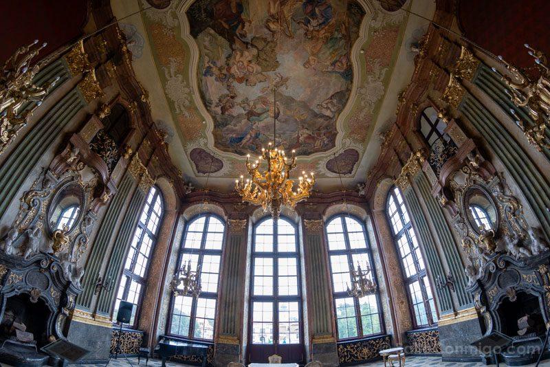 Castillo Ksiaz Interior Salon Maximilian
