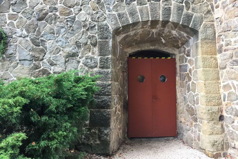 Castillo Ksiaz Tuneles