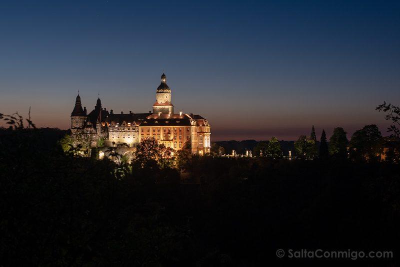 Castillo Ksiaz Vista Bosque Hora Azul
