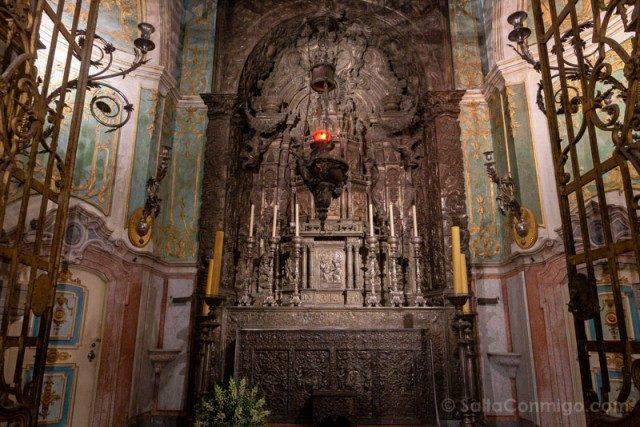 Catedral de Oporto Capilla Santo Sacramento