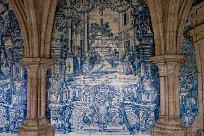 Catedral de Oporto Claustro Azulejos
