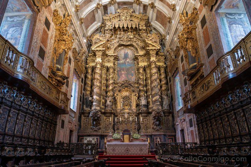 Catedral de Oporto Iglesia Capilla Mayor