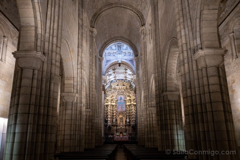 Catedral de Oporto Iglesia Nave Central
