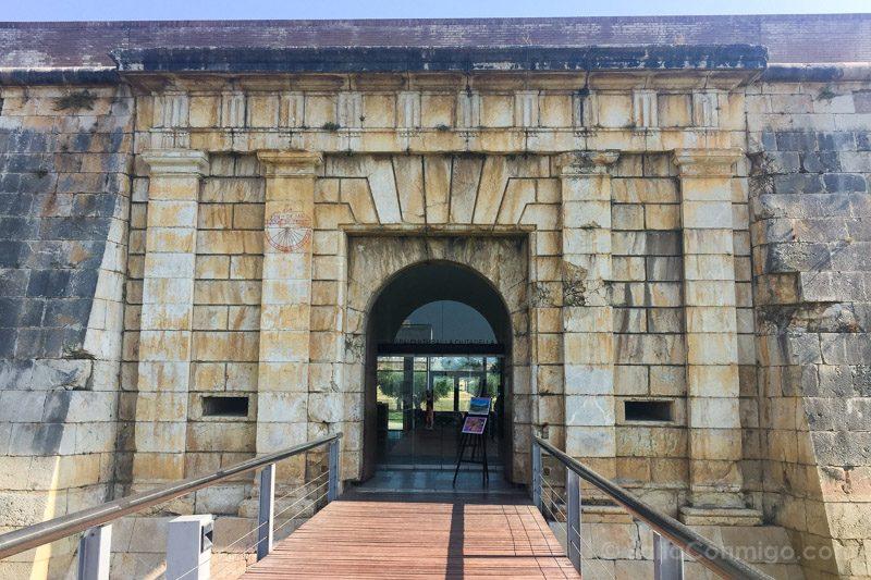 Puerta de Mar, Sur, de la Ciutadella de Roses