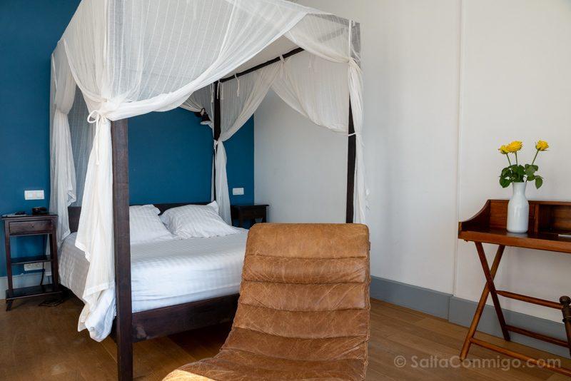 Nuestra habitación en el Hôtel le Rayon Vert