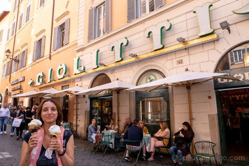 Heladerias de Roma Giolitti Calle