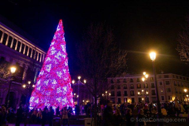 Navidad Madrid Arbol Opera