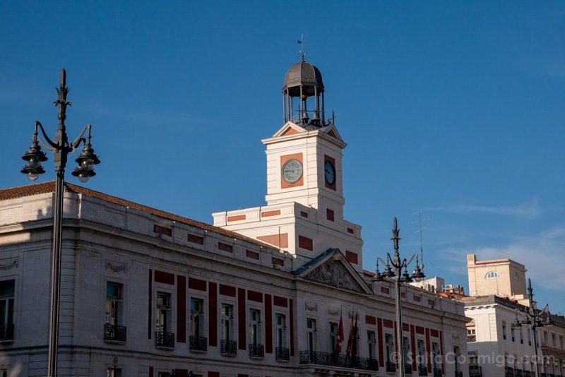 Navidad Madrid Reloj Puerta Sol