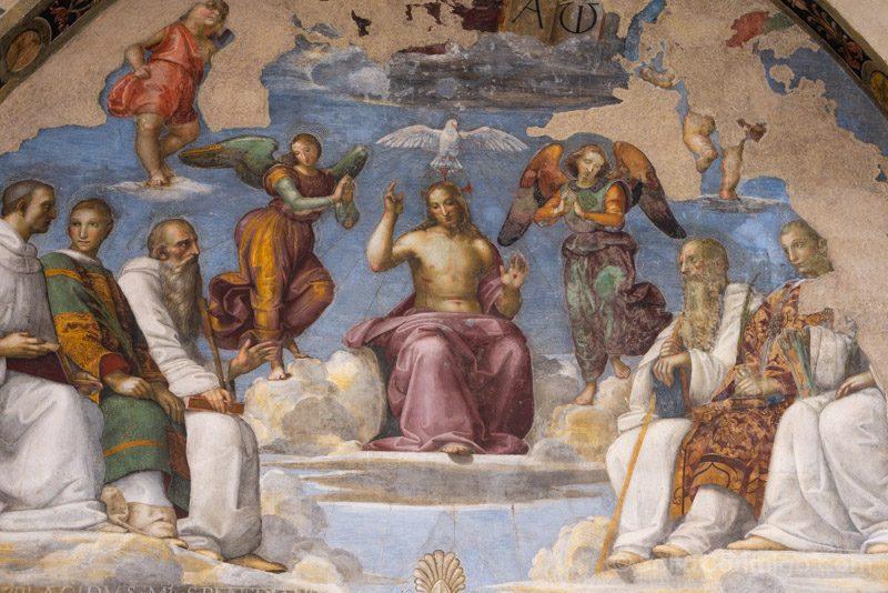 Frescos de la capilla de San Severo
