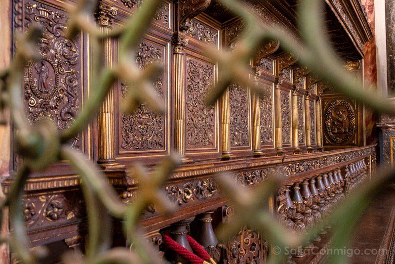 Coro de la catedral de Perugia