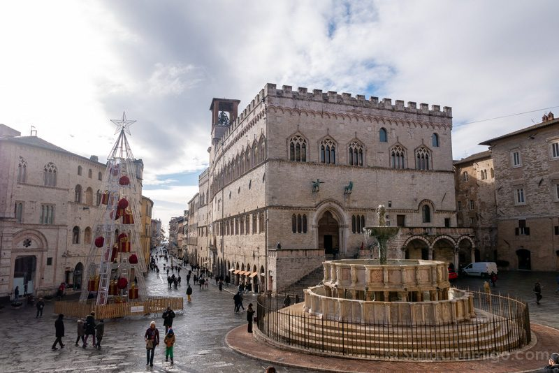 La piazza IV novembre, una parada obligatoria en tu visita a Perugia