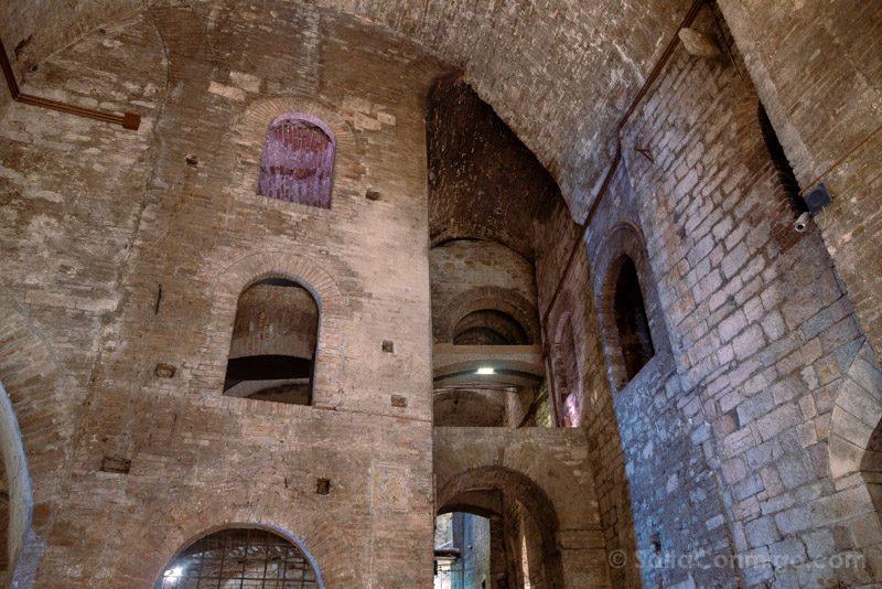Subterráneo de la Rocca Paolina