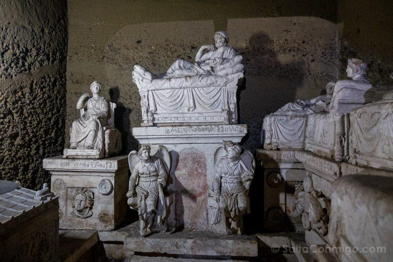 La tumba principal del hipogeo