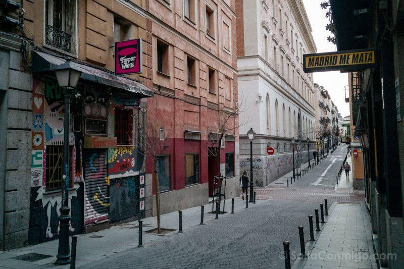 Los bares de la Movida madrileña en la Corredera de San Pablo