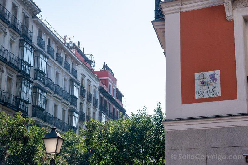 Que Ver en Malasana Calle Manuela Malasana