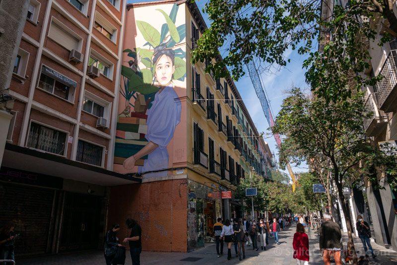 Que Ver en Malasana Fuencarral Artez Mural