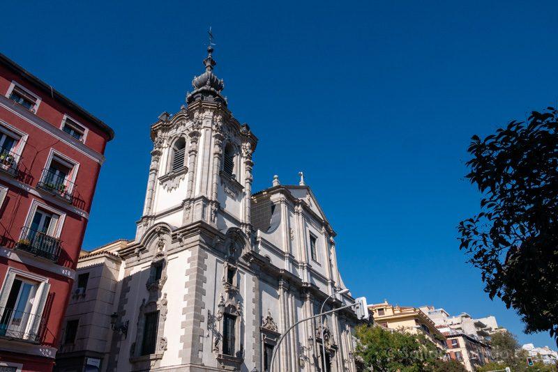 Que Ver en Malasana San Bernardo Iglesia Nuestra Senora Montserrat