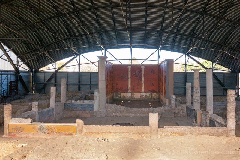 Complutum Alcala  Henares Casa Grifos Panoramica