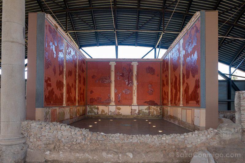 Complutum Alcala Henares Casa Grifos Triclinium