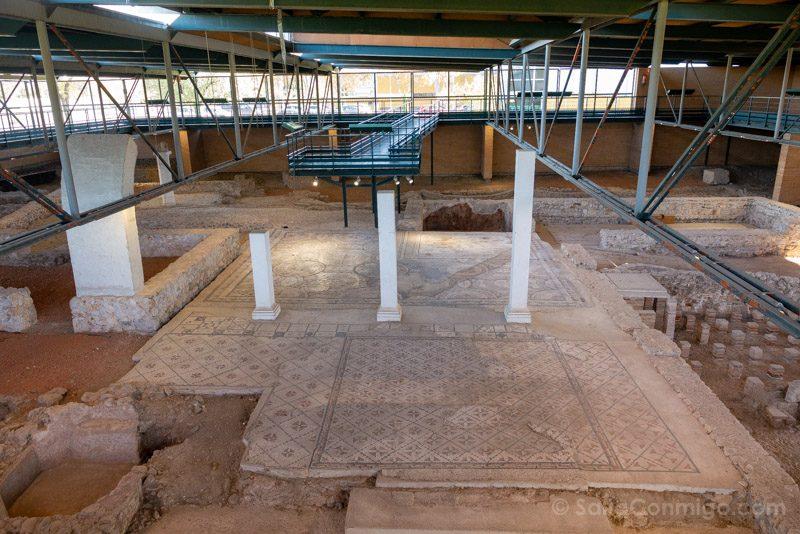 Complutum Alcala Henares Casa Hippolytus Interior