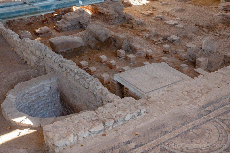 Complutum Alcala Henares Casa Hippolytus Termas