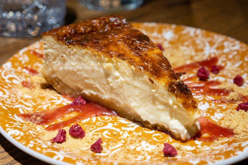Donde Comer en Alcala de Henares Martilota Libuma Cheesecake