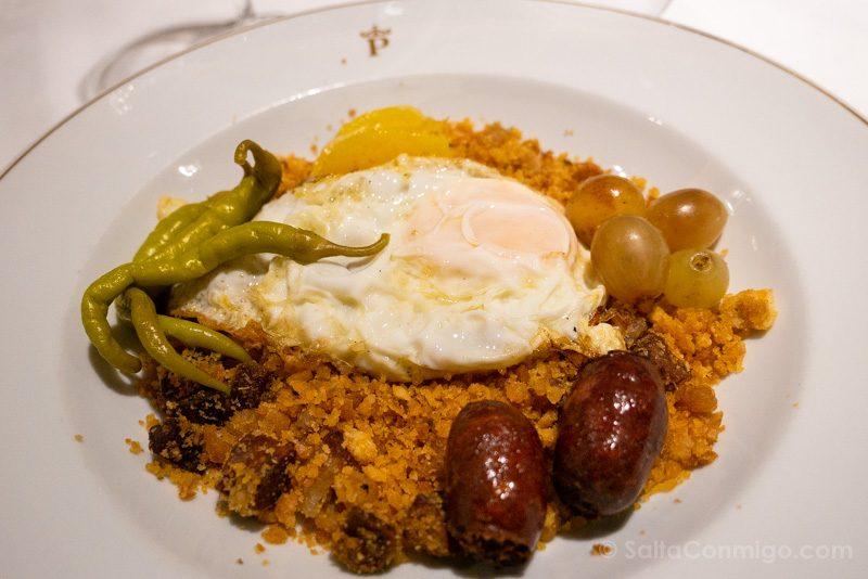 Donde Comer en Alcala de Henares Parador Migas Alcalaina