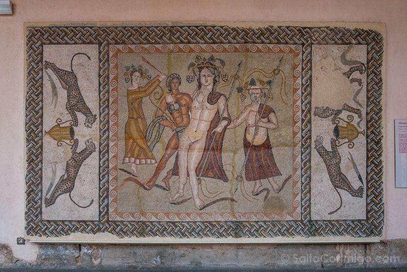 Museo Arqueologico Regional Alcala Henares Mosaico Casa Baco