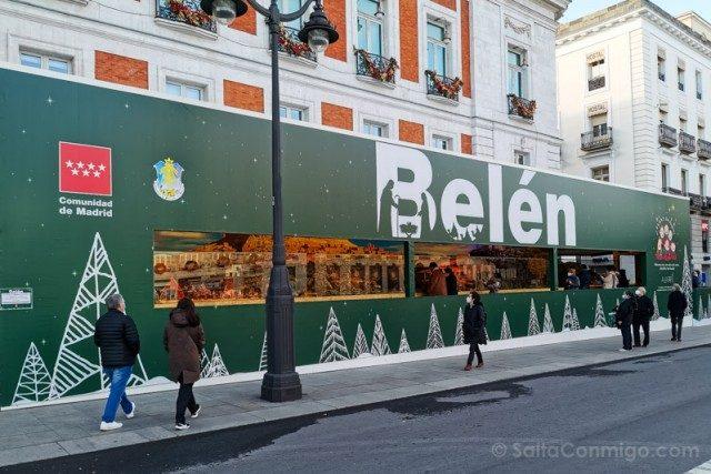 Navidad Madrid 2020 Belen Puerta del Sol
