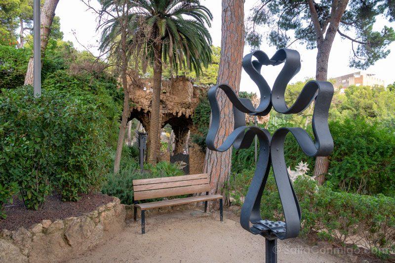 Park Guell Barcelona Casa Museo Gaudi Jardin
