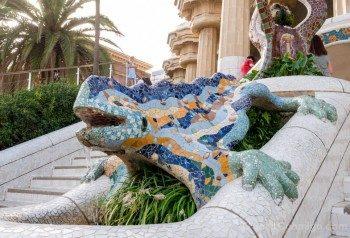 Park Guell Barcelona Salamandra